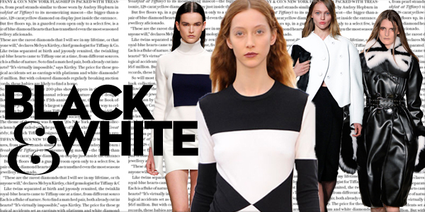 Siyah ve Beyaz Modası