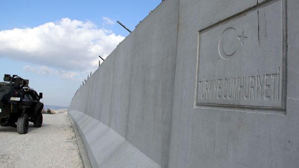 Suriye Sınırına Akıllı Kule ve Beton Duvarlar