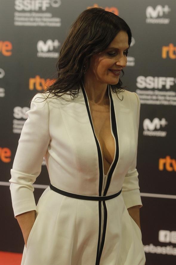 Juliette Binoche San Sebastian Film festivali